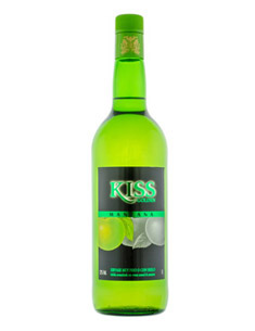 Green Apple Kiss Liqueur 1L